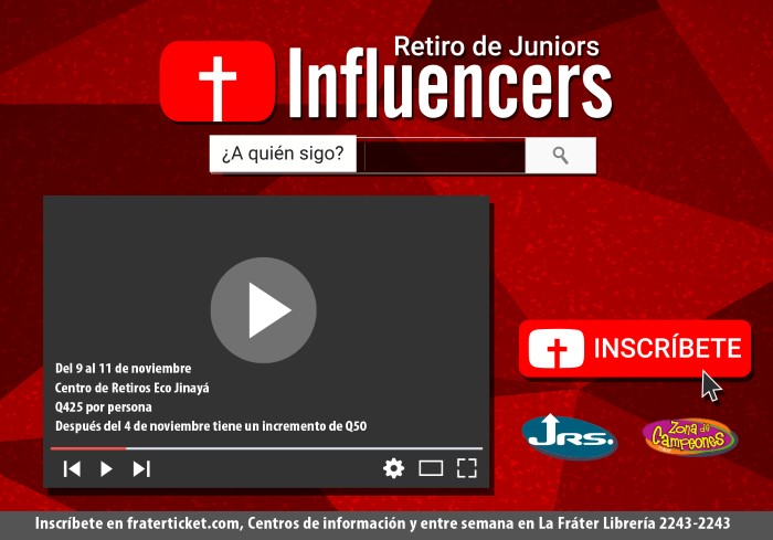 Retiro de Juniors Influencers